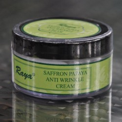 Saffron Pappaya Anti-Wrinkle Cream